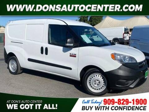 2018 RAM ProMaster City Cargo for sale at Dons Auto Center in Fontana CA