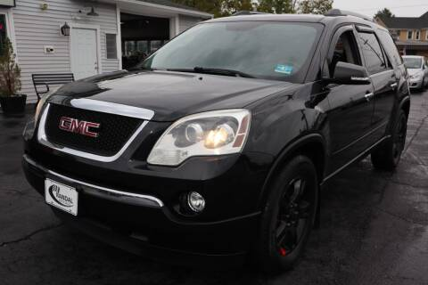 2012 GMC Acadia for sale at Randal Auto Sales in Eastampton NJ