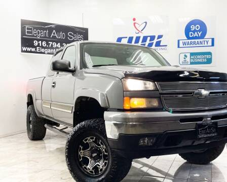 2006 Chevrolet Silverado 1500 for sale at Elegant Auto Sales in Rancho Cordova CA