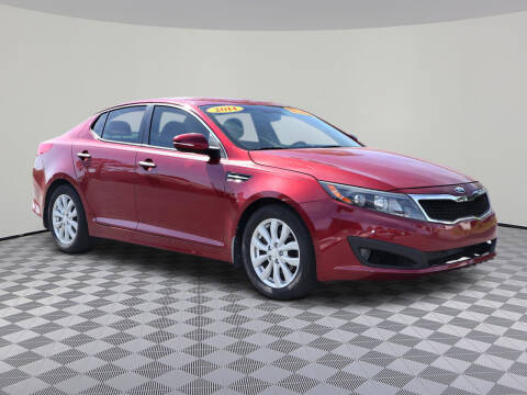 2014 Kia Optima for sale at David Family Auto in New Port Richey FL