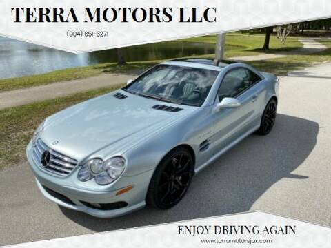 2003 Mercedes-Benz SL-Class for sale at Terra Motors LLC in Jacksonville FL