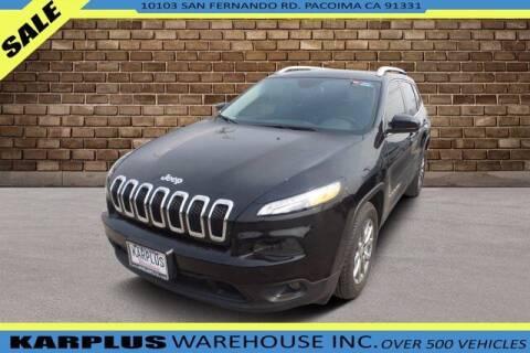 2018 Jeep Cherokee for sale at Karplus Warehouse in Pacoima CA