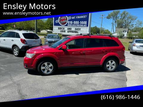 2012 Dodge Journey for sale at Ensley Motors in Allendale MI