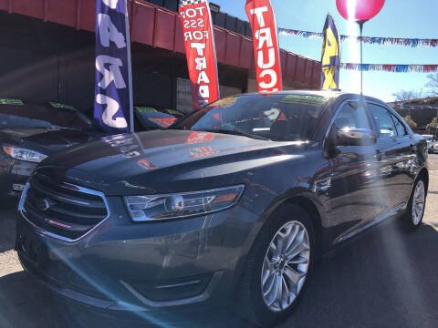 2017 Ford Taurus for sale at Duke City Auto LLC in Gallup NM