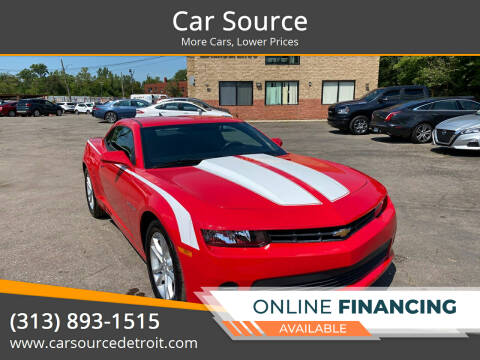 2014 Chevrolet Camaro for sale at Car Source in Detroit MI
