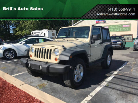 2011 Jeep Wrangler for sale at Brill's Auto Sales in Westfield MA