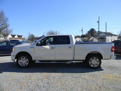2007 Lincoln Mark LT for sale at SeaCrest Sales, LLC in Elizabeth City NC
