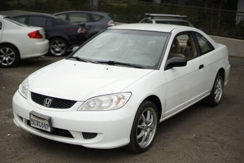 2004 Honda Civic for sale at Sports Plus Motor Group LLC in Sunnyvale CA