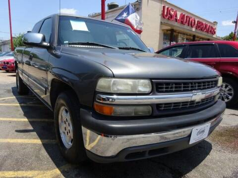 2001 Chevrolet Silverado 1500 for sale at USA Auto Brokers in Houston TX