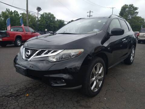 2014 Nissan Murano for sale at P J McCafferty Inc in Langhorne PA