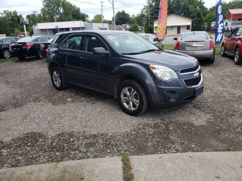 2011 Chevrolet Equinox for sale at Fansy Cars in Mount Morris MI