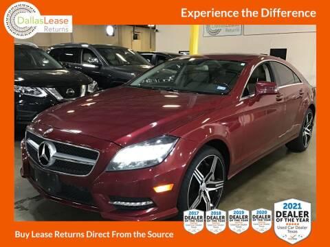 2013 Mercedes-Benz CLS for sale at Dallas Auto Finance in Dallas TX