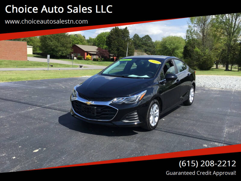 2019 Chevrolet Cruze for sale at Choice Auto Sales LLC - Cash Inventory in White House TN
