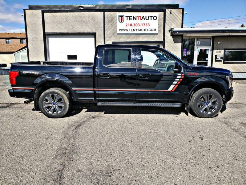 2018 Ford F-150 for sale at Ten 11 Auto LLC in Dilworth MN