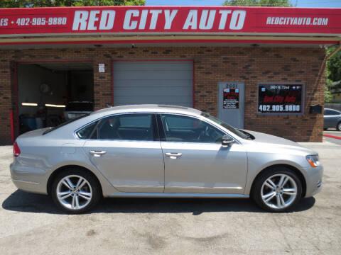 2013 Volkswagen Passat for sale at Red City  Auto in Omaha NE