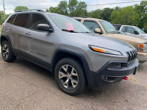 2015 Jeep Cherokee for sale at Sunrise Auto Sales in Stacy MN