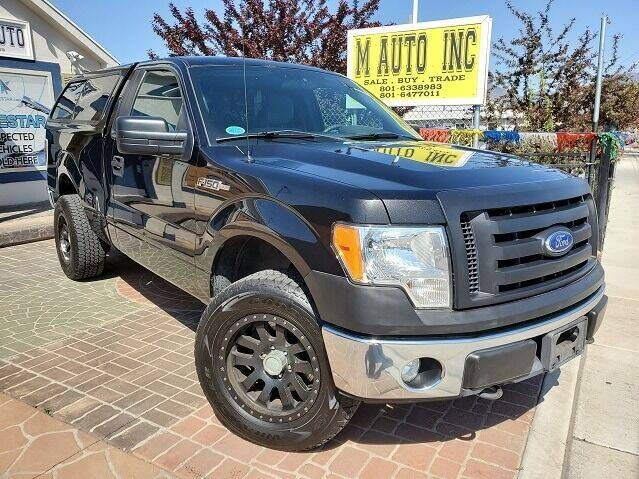 2011 Ford F-150 for sale at M AUTO, INC in Millcreek UT