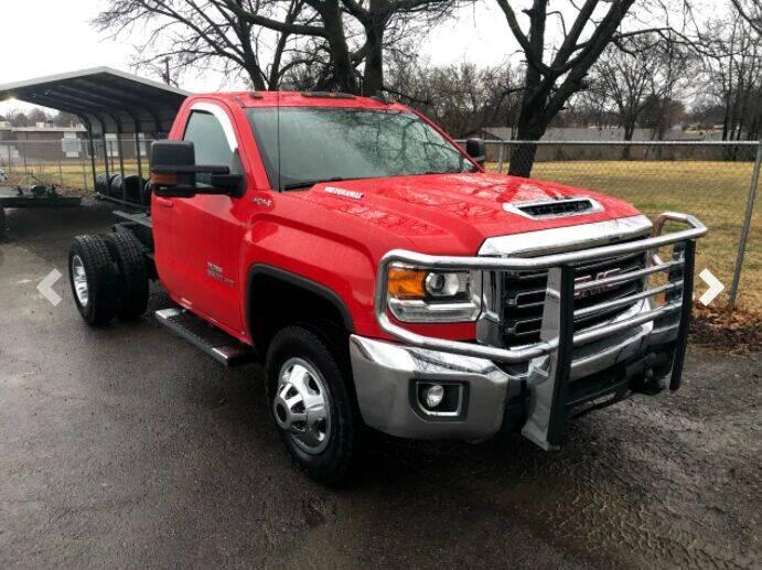 2017 GMC Sierra 3500HD for sale at KA Commercial Trucks, LLC in Dassel MN