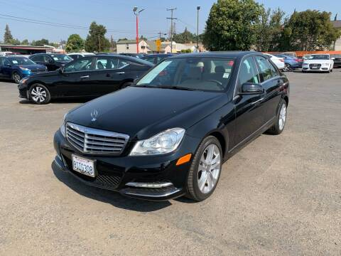 2014 Mercedes-Benz C-Class for sale at City Motors in Hayward CA