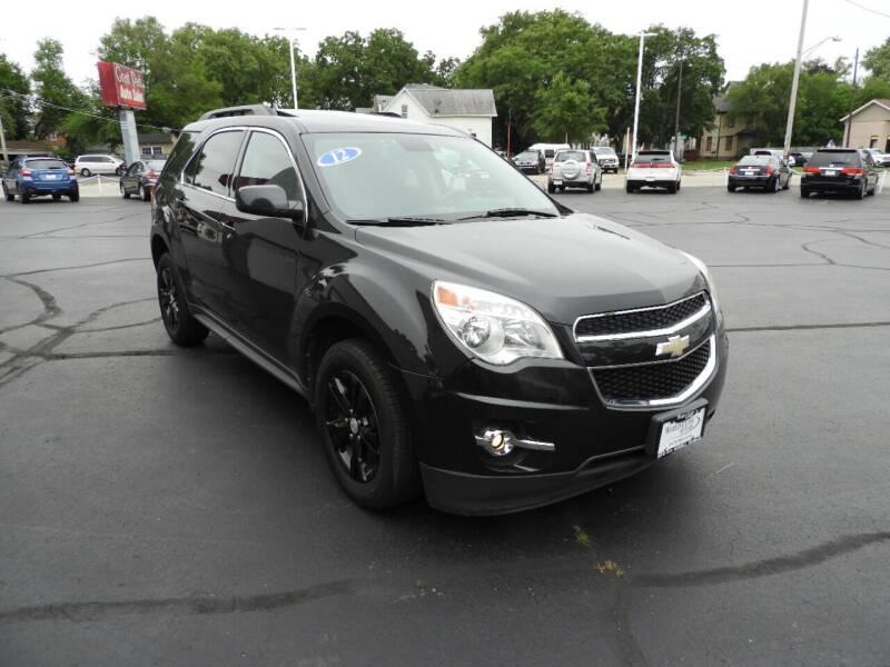2012 Chevrolet Equinox for sale at Grant Park Auto Sales in Rockford IL