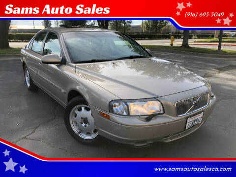 2002 Volvo S80 for sale at Sams Auto Sales in North Highlands CA