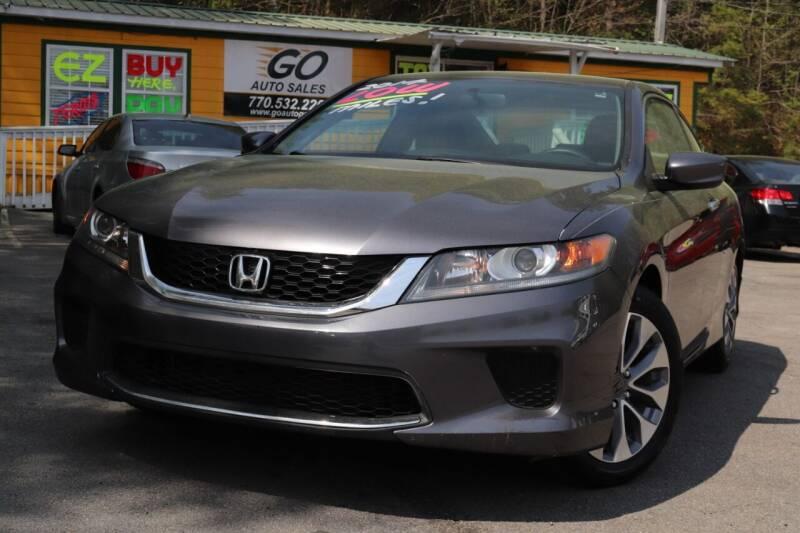 2014 Honda Accord for sale at Go Auto Sales in Gainesville GA
