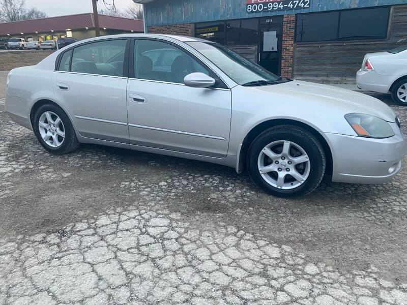 2006 Nissan Altima for sale at Kansas Car Finder in Valley Falls KS