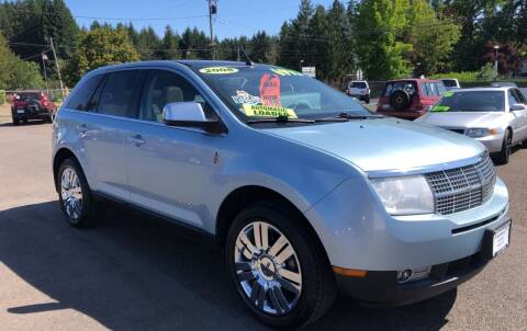 2008 Lincoln MKX for sale at Freeborn Motors in Lafayette, OR