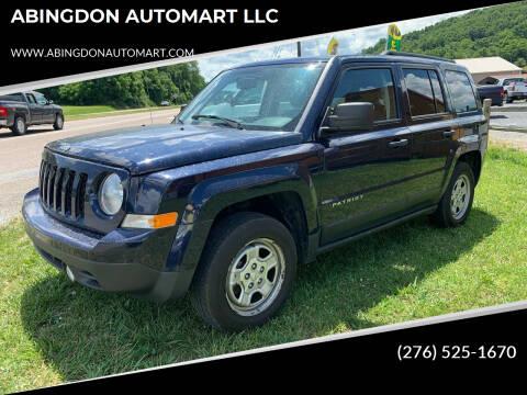 2016 Jeep Patriot for sale at ABINGDON AUTOMART LLC in Abingdon VA