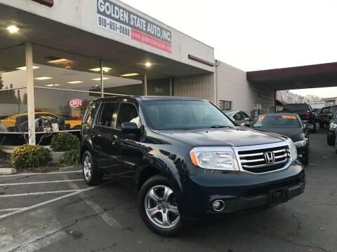 2012 Honda Pilot for sale at Golden State Auto Inc. in Rancho Cordova CA