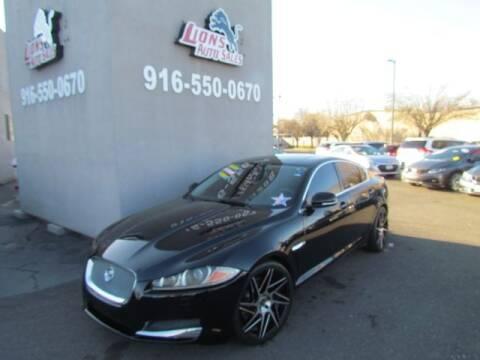 2012 Jaguar XF for sale at LIONS AUTO SALES in Sacramento CA