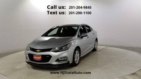 2017 Chevrolet Cruze for sale at NJ State Auto Used Cars in Jersey City NJ