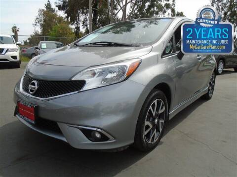 2015 Nissan Versa Note for sale at Centre City Motors in Escondido CA