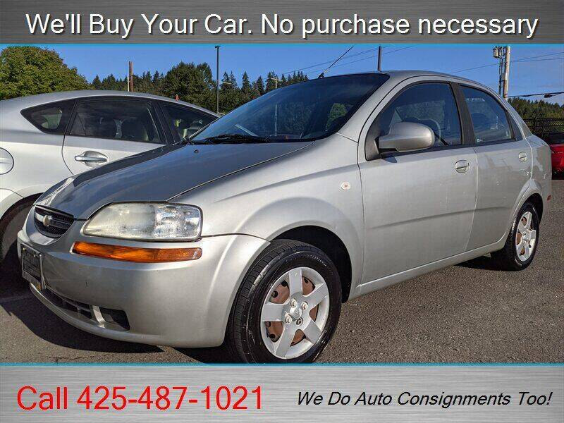 2005 Chevrolet Aveo for sale at Platinum Autos in Woodinville WA