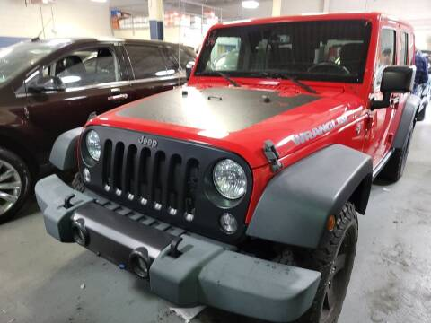 2017 Jeep Wrangler Unlimited for sale at AW Auto & Truck Wholesalers  Inc. in Hasbrouck Heights NJ