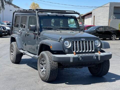 2017 Jeep Wrangler Unlimited for sale at Brown & Brown Wholesale in Mesa AZ
