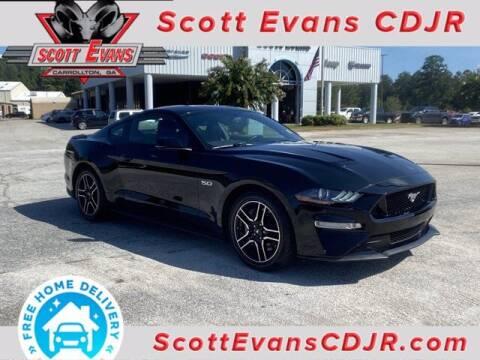 2018 Ford Mustang for sale at SCOTT EVANS CHRYSLER DODGE in Carrollton GA