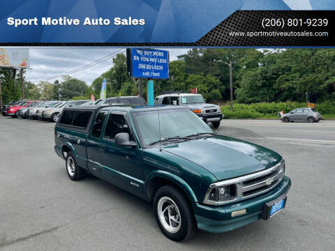 1997 Chevrolet S-10 for sale at Sport Motive Auto Sales in Seattle WA