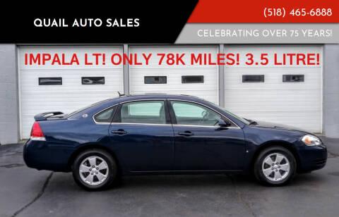 2008 Chevrolet Impala for sale at Quail Auto Sales in Albany NY