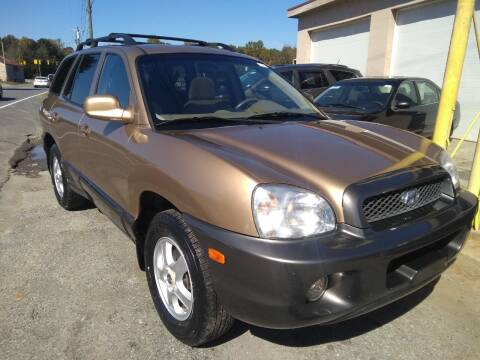 2002 Hyundai Santa Fe for sale at Sparks Auto Sales Etc in Alexis NC