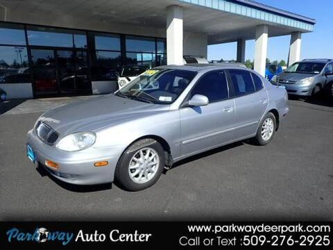 2001 Daewoo Leganza for sale at PARKWAY AUTO CENTER AND RV in Deer Park WA