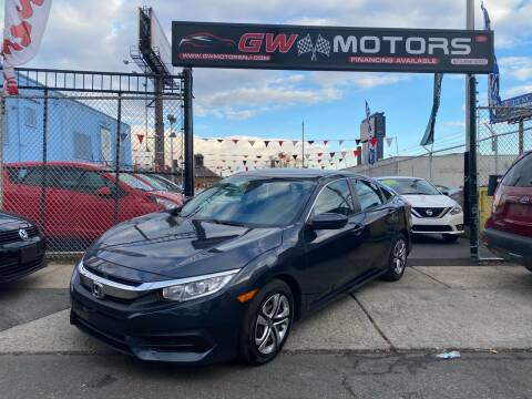 2017 Honda Civic for sale at GW MOTORS in Newark NJ