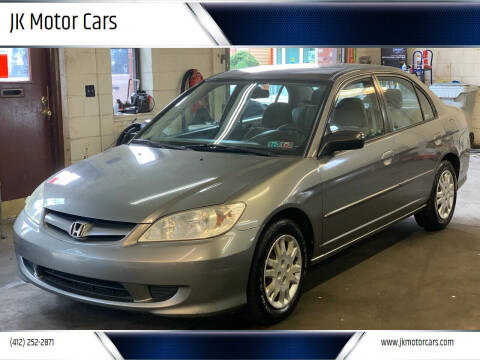 2004 Honda Civic for sale at JK Motor Cars in Pittsburgh PA