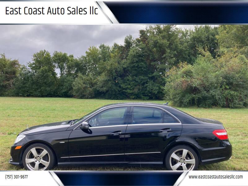 2012 Mercedes-Benz E-Class for sale at East Coast Auto Sales llc in Virginia Beach VA