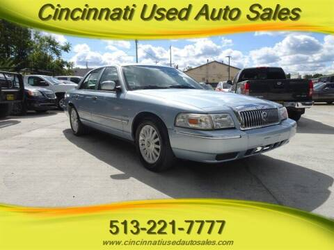2010 Mercury Grand Marquis for sale at Cincinnati Used Auto Sales in Cincinnati OH