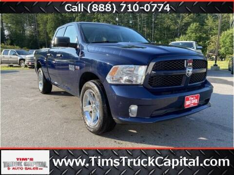 2016 RAM Ram Pickup 1500 for sale at TTC AUTO OUTLET/TIM'S TRUCK CAPITAL & AUTO SALES INC ANNEX in Epsom NH