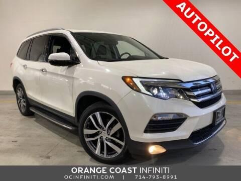 2017 Honda Pilot for sale at ORANGE COAST CARS in Westminster CA