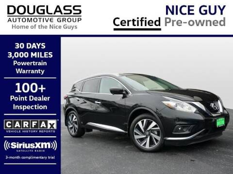 2018 Nissan Murano for sale at Douglass Automotive Group - Douglas Mazda in Bryan TX