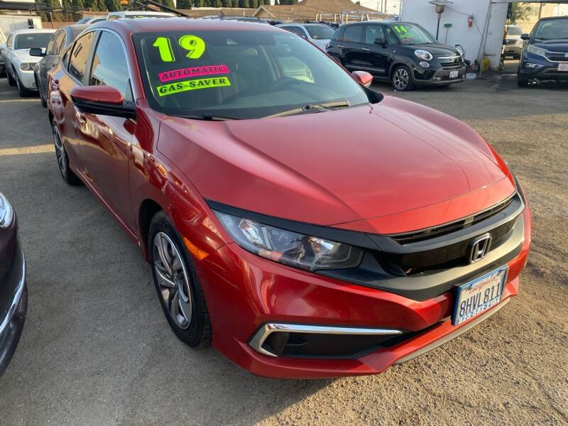 2019 Honda Civic for sale at CAR GENERATION CENTER, INC. in Los Angeles CA