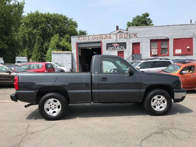 2005 Chevrolet Silverado 1500 for sale at Dan's Auto Sales and Repair LLC in East Hartford CT